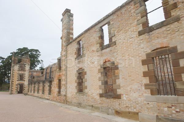 Portu więzienia świat dziedzictwo tasmania Zdjęcia stock © roboriginal