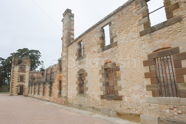 Porta prisão mundo herança tasmânia Foto stock © roboriginal