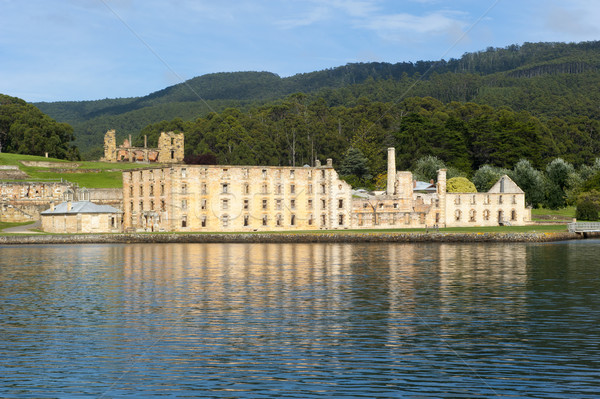 Puerto museo tasmania mundo patrimonio Foto stock © roboriginal