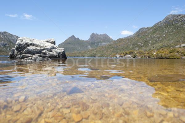 Wieg berg park tasmanië Australië mooie Stockfoto © roboriginal