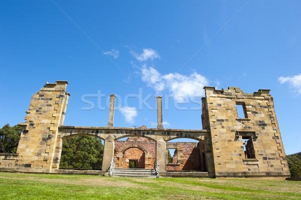 Haven ziekenhuis museum tasmanië wereld Stockfoto © roboriginal