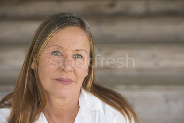 Portrait elegant attractive woman Stock photo © roboriginal