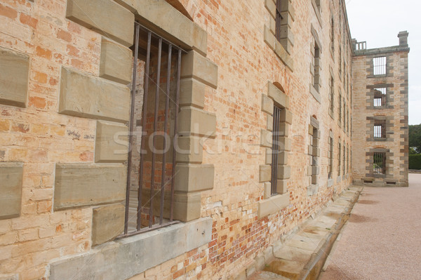 Port Arthur Convict Settlement Museum Tasmania Stock photo © roboriginal