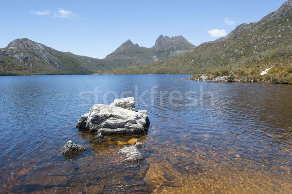 Dove Lake Cradle Mountain National Park  Tasmania Stock photo © roboriginal