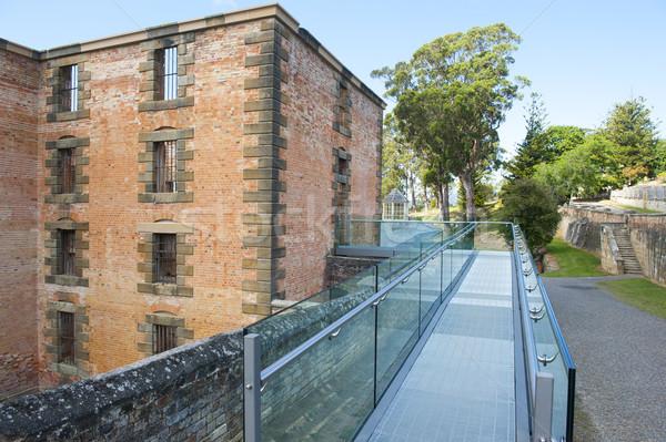 Port Arthur Convict Prison Tasmania Stock photo © roboriginal