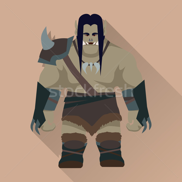 Game Object of Orc Stock photo © robuart