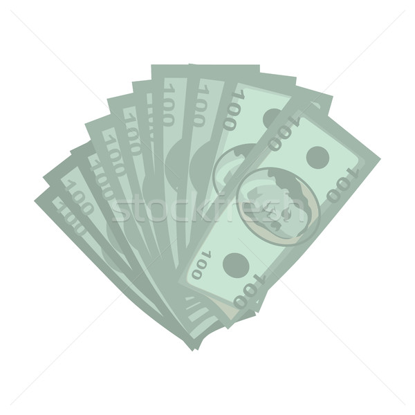 Money Vector Illustration in Flat Style Design. Stock photo © robuart