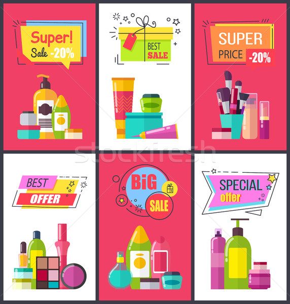 Super Sale and Best Price Vector Illustration Stock photo © robuart