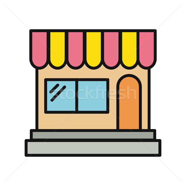 Store and Shop Icon Stock photo © robuart