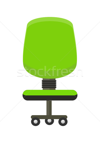 Green Office Chair Icon. Stock photo © robuart