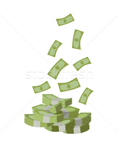 Dinero diseno vector billetes Foto stock © robuart