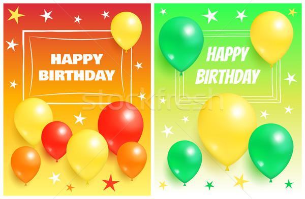Feliz Cumpleaños Fondos Invitación Tarjetas