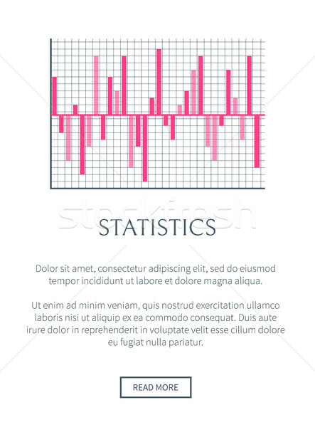 статистика веб страница текста образец кнопки Сток-фото © robuart