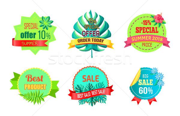 Ordem hoje verão venda promo Foto stock © robuart