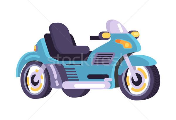 набор Motor транспорт пункт вектора Сток-фото © robuart