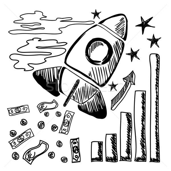 Stockfoto: Startup · ontwerp · business · start