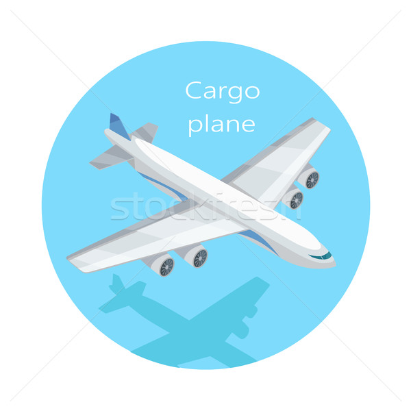 Cargo Plane Isolated. Freight Aircraft, Freighter Stock photo © robuart