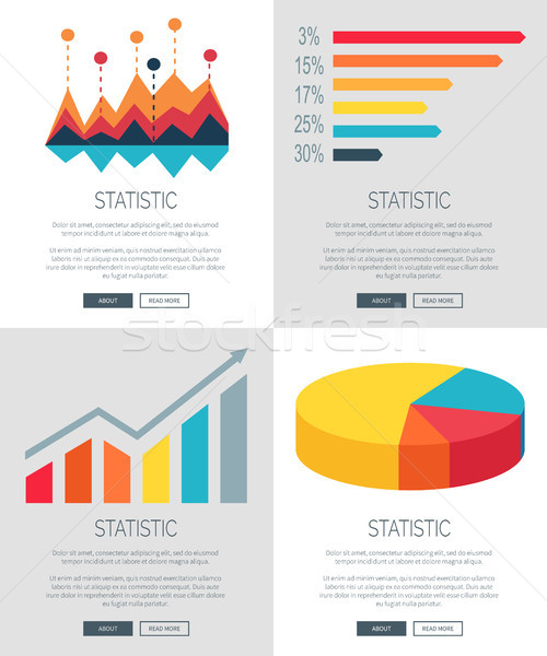 Statistic about Car Free Day Vector Illustration Stock photo © robuart