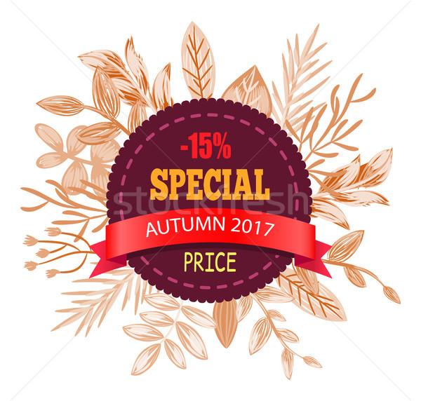 Special Autumn Price 2017 on Vector Illustration Stock photo © robuart