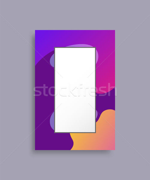 Frame Banner with Abstract Background Place Text Stock photo © robuart