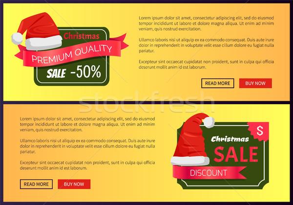 Stockfoto: Hot · prijzen · christmas · verkoop · web · banners