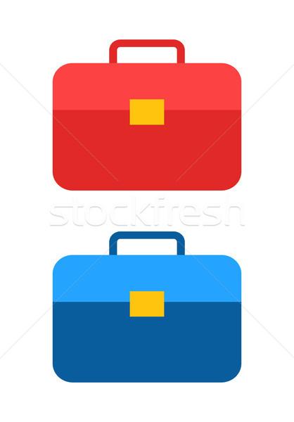çanta simgeler toplama çanta model farklı Stok fotoğraf © robuart