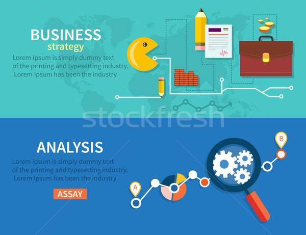 Business Stategy and Analysis Stock photo © robuart