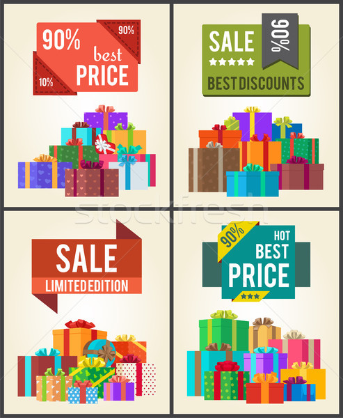 90 Best Price Limit Edition Super Discount Vector Stock photo © robuart