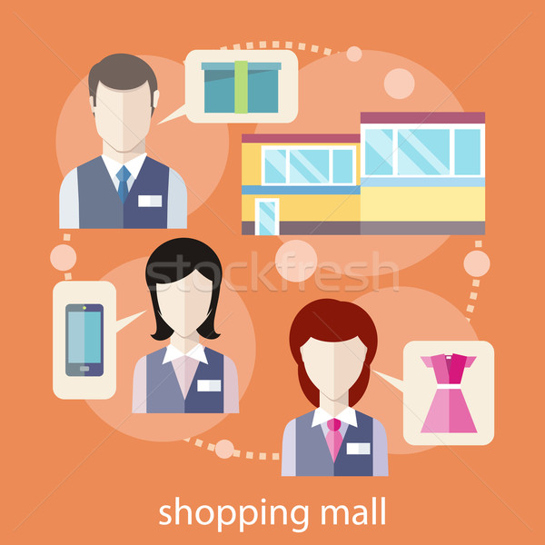 Shopping mall concept Stock photo © robuart