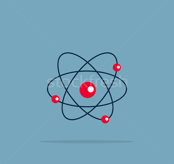 Atom Structure Symbol Stock photo © robuart