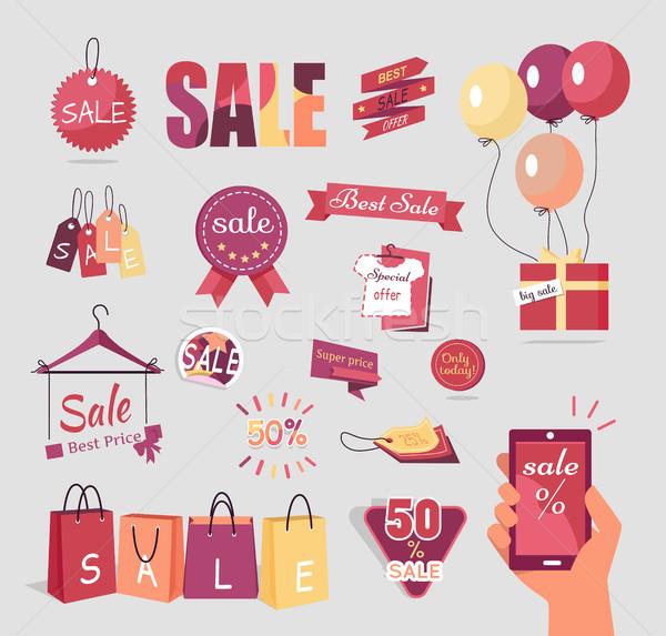 Stockfoto: Collectie · verkoop · communie · prijs · retro