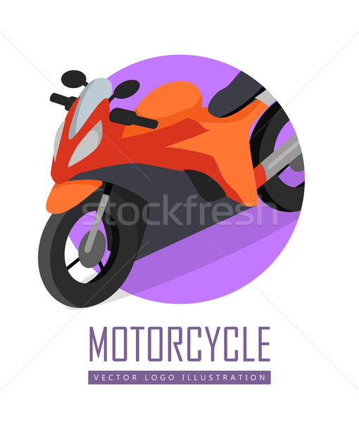 Bike Vector Icon in Isometric Projection Stock photo © robuart