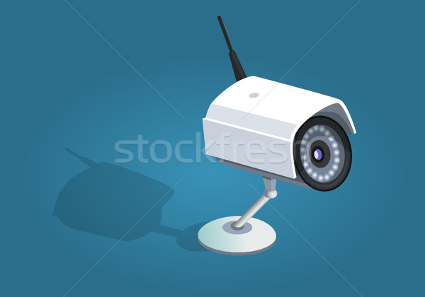 Surveillance Camera Safety Home Protection System Stock photo © robuart
