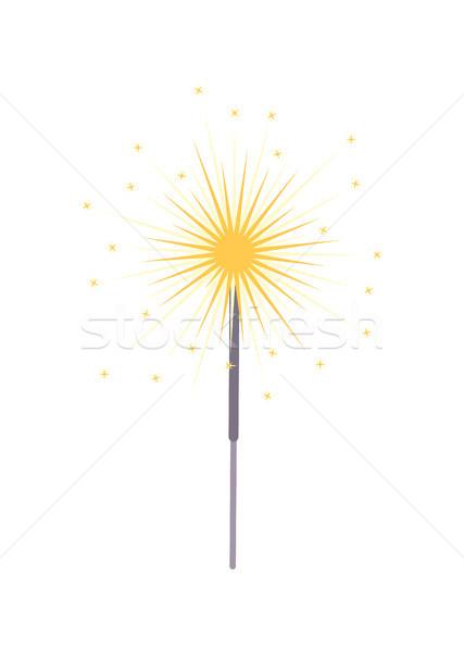 Bengalski świetle ikona brylant Zdjęcia stock © robuart