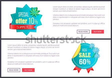 From 30 to 50 Discount at Internet Shop Pages Stock photo © robuart