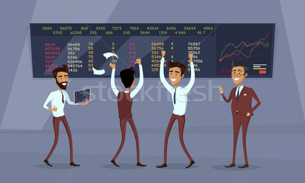 Business Team Work Success Concept Vector Stock photo © robuart