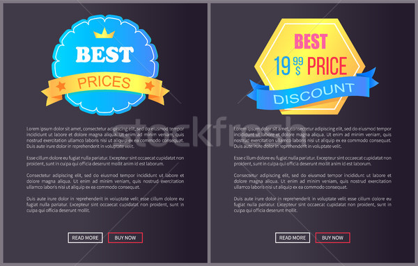Best Product Hot Exclusive Price Web Poster Vector Stock photo © robuart