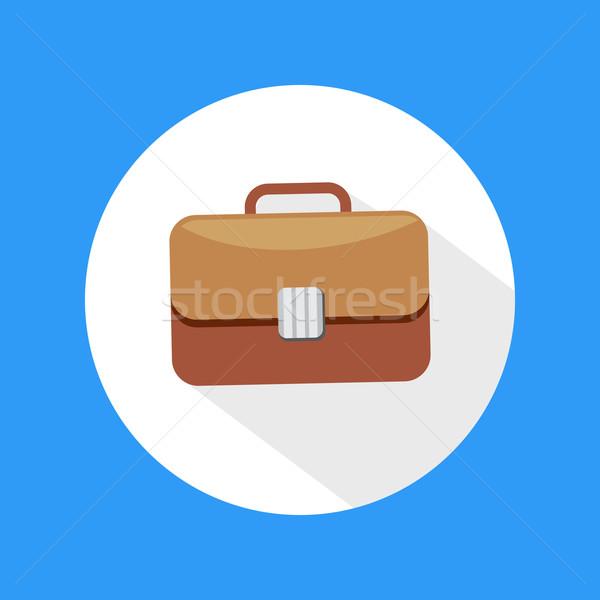 Briefcase icon Stock photo © robuart