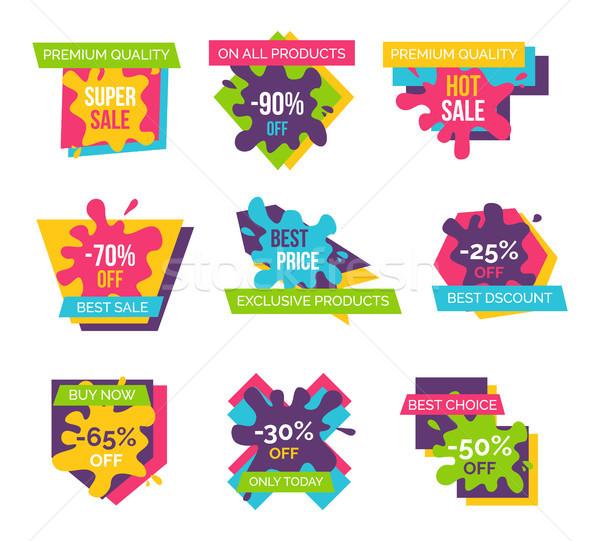 Stock fotó: Prémium · minőség · el · exkluzív · termékek · legjobb