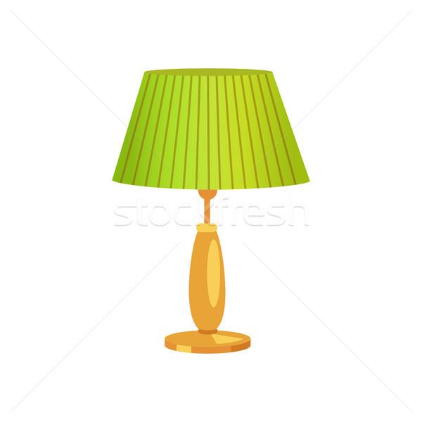 Interior Design Lampshade Vector Illustration Stock photo © robuart
