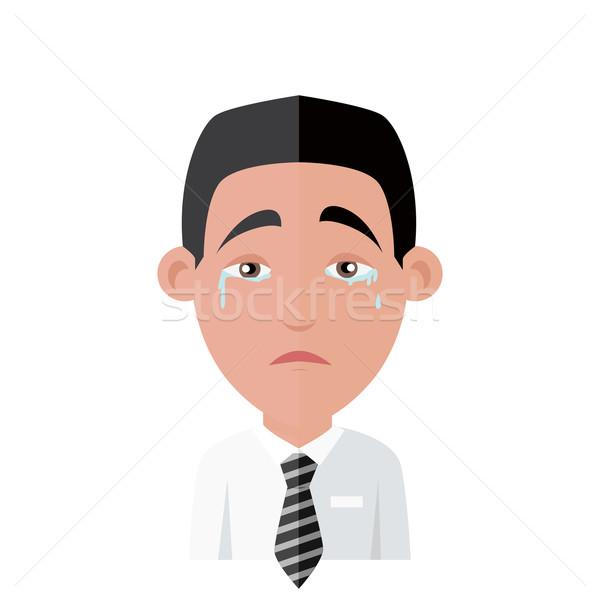 Emotion Avatar Man Crying Success Stock photo © robuart