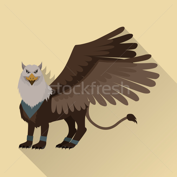 Mythical Monsters Griffin Stock photo © robuart