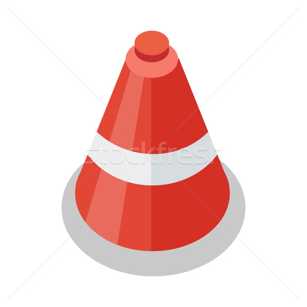Traffic Cone Icon Stock photo © robuart