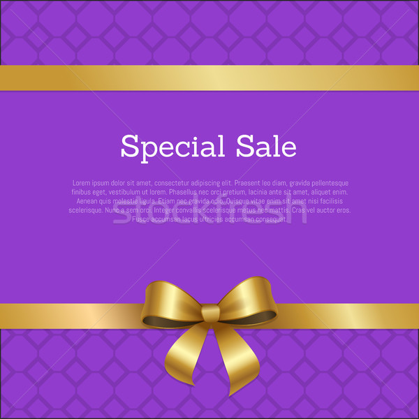 Special Sale Promo Poster Place for Text Framed Stock photo © robuart