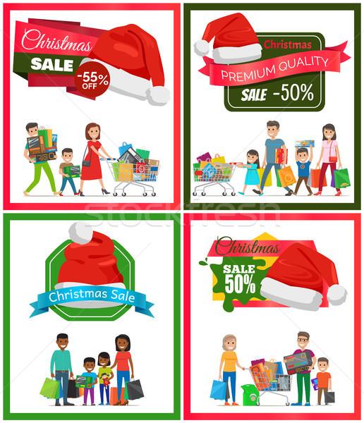 セット クリスマス 販売 プレミアム 品質 バナー ストックフォト © robuart
