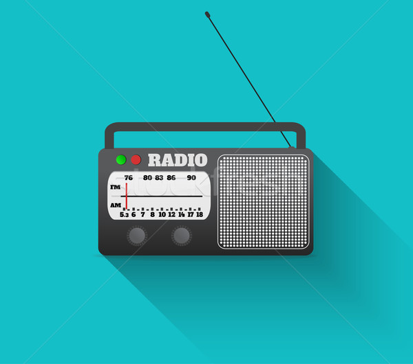 Radio retro Stock photo © robuart