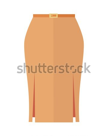 Trousers Unisex Pants Isolated on White Background Stock photo © robuart