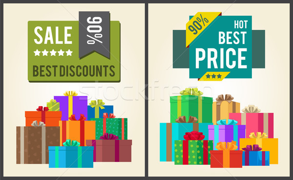 Sale Best Discounts Super Hot Prices Final Total Stock photo © robuart