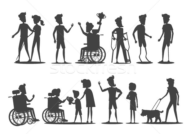 People with Disabilities Require Special Attention Stock photo © robuart