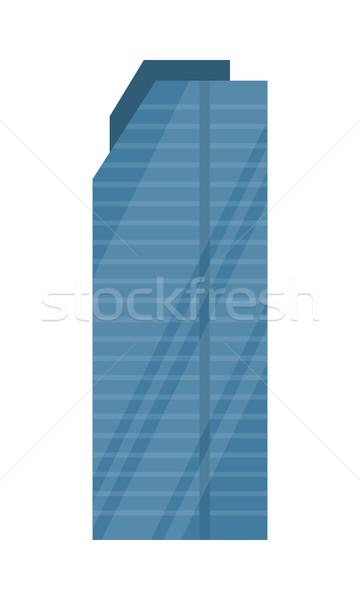 Wieżowiec projektu budynku stylu wektora nowoczesne Zdjęcia stock © robuart